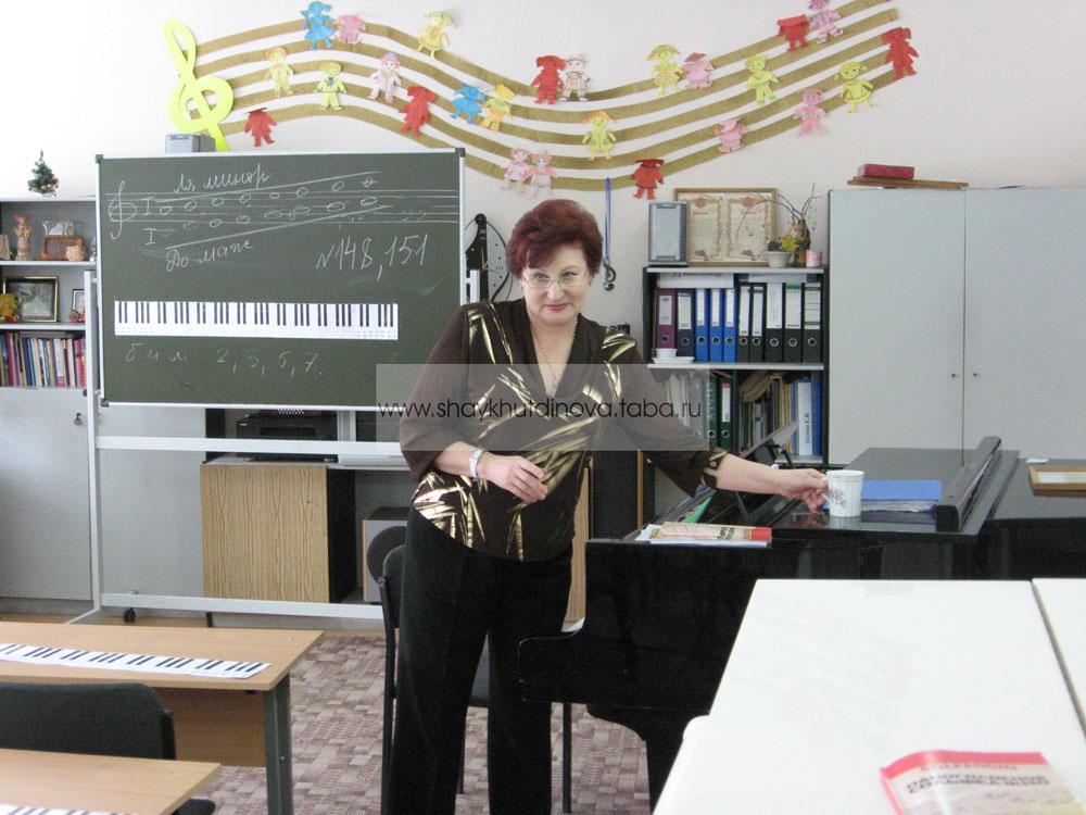 Мегион-2010. Мастер-класс в ДШИ